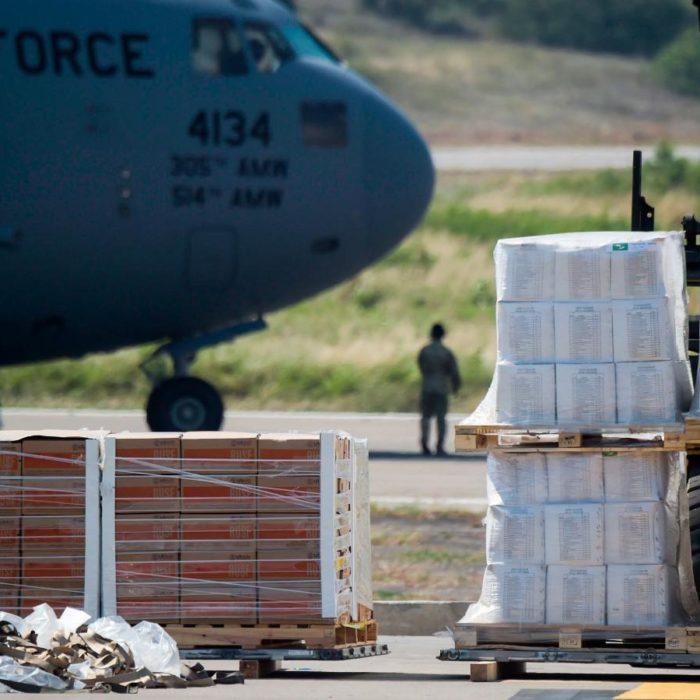 ¿Está llegando la ayuda que prometió Guaidó?