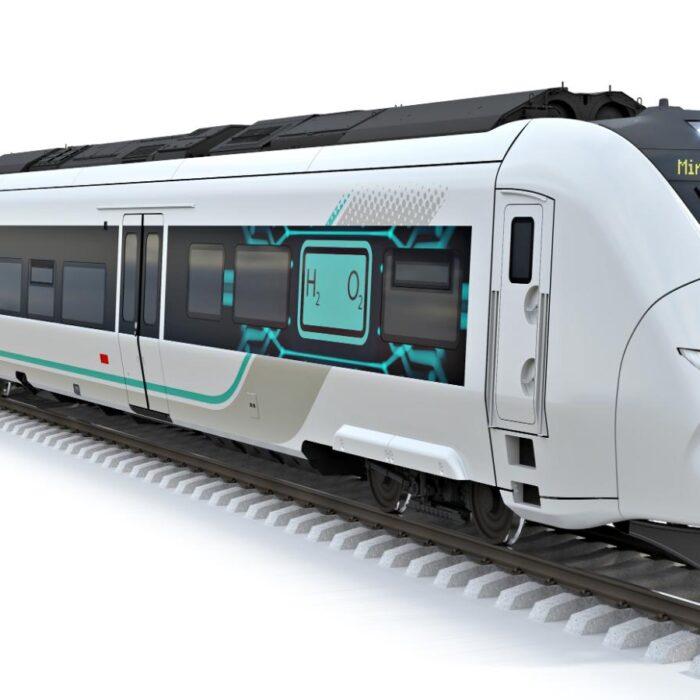 Este tren propulsado por hidrógeno podría reemplazar los locomotoras diésel en Alemania