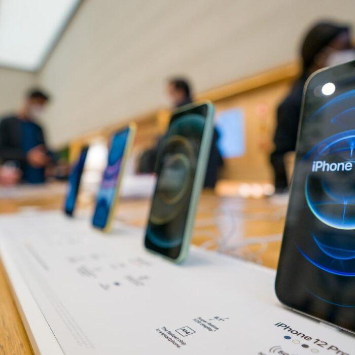 Apple registra un trimestre récord gracias a las ventas de iPhone